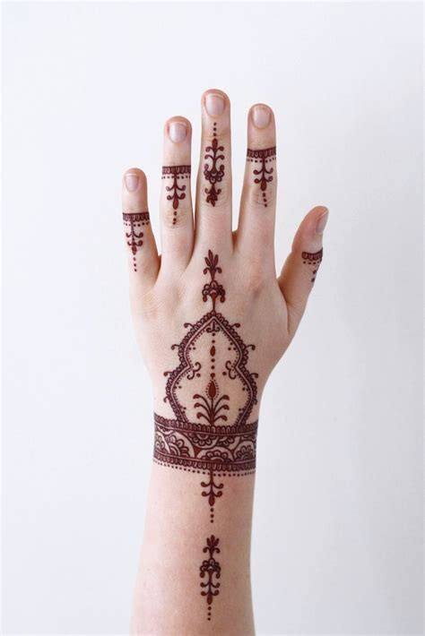 henna style temporary temporary tattoos by tattoorary