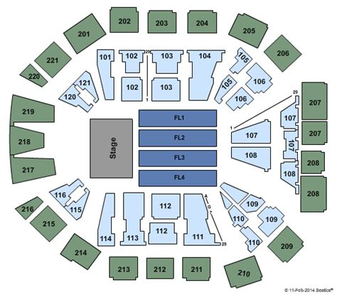 matthew arena seating rows motley crue packages