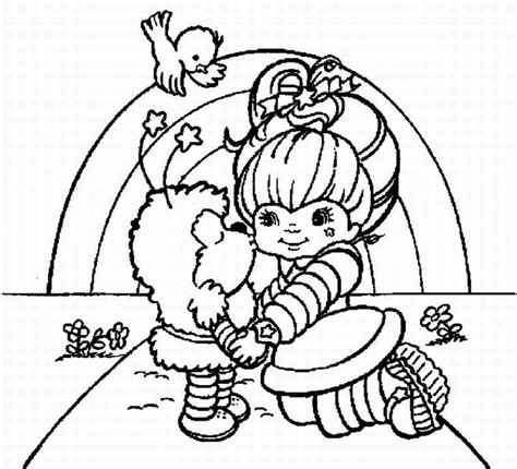 Rainbow Bright Coloring Pages Coloring Pages Rainbow Brite Coloring Home by Rainbow Bright Coloring Pages