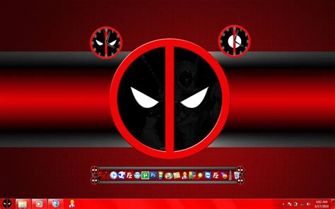 Deadpool Windows 7 Theme | deadpool theme windows 7 by gravelhunter on deviantart