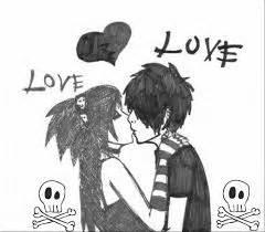 imagenes besos emo beso emo by laureniarosax on deviantart
