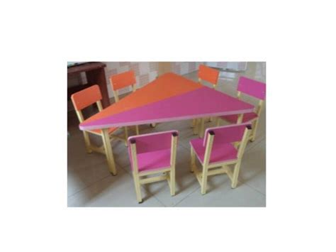 nursery table and chair for montessori schools ikeja