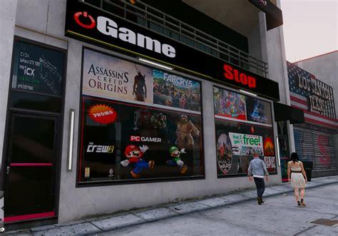 mod game store gamestop store update games gta5 mods com