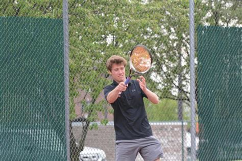 edwardsville takes two of three doubles flights leads after day of swc tennis tournament