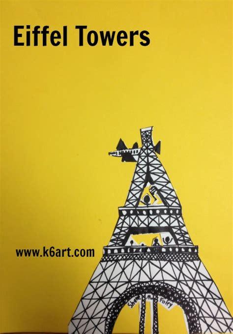 Guess Eiffel Black eiffel tower line drawings k 6 artk 6