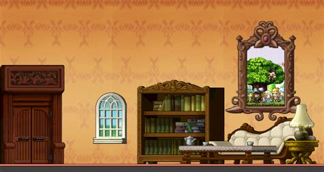 Maplestory Bedroom Background Roomday By Brokenhappiness On Deviantart