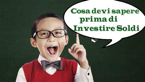 investire soldi come investire 20000 consigli per investimenti