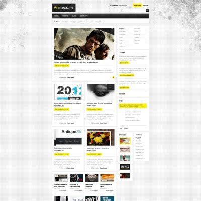 drupal themes for artists art drupal themes