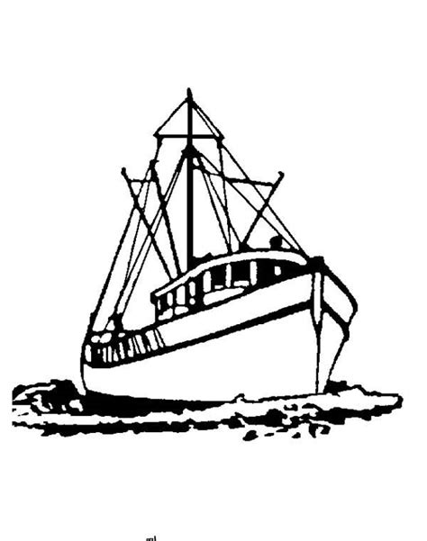 how to draw a fisherman boat four hand drawn fishing boats vector free download