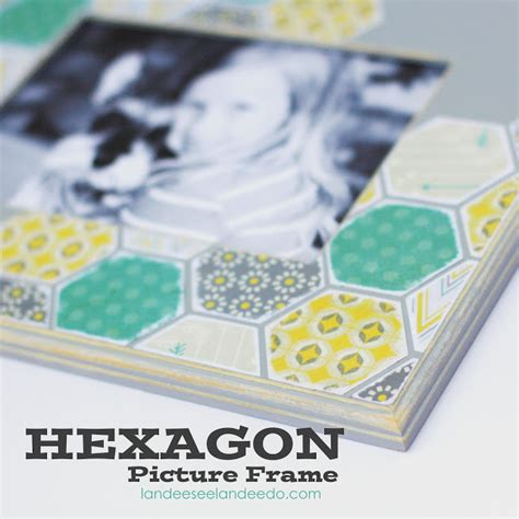 Hexagon Chalkboard Landeelu - paper hexagon picture frame landeelu