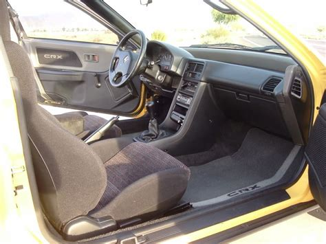 Crx Interior Parts by 1990 Honda Crx Si Interior Roomiest Small Car Crx