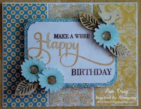 scrapbook flair pam bray designs inspired by sting release make a wish happy birthday