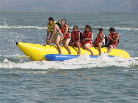 banana boat picture banana boat rides in the beach picture of nauticus tour