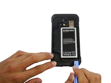 Log On Battery Samsung Galaxy S5 samsung galaxy s5 active battery replacement ifixit