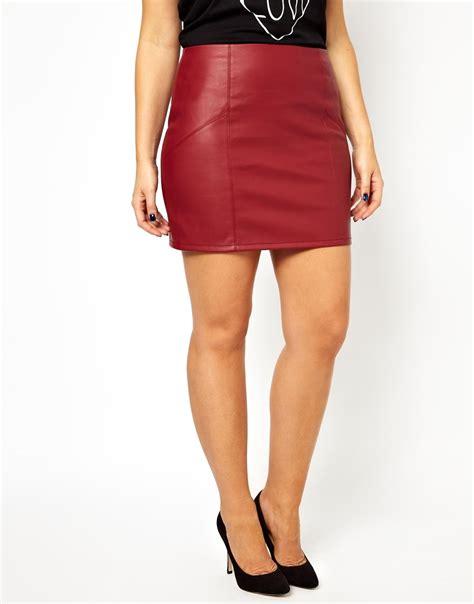 Bigsize Midi Flare Skirt Berkualitas leather skirt fashion skirts
