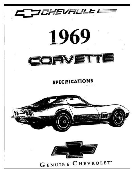 car repair manuals online pdf 1968 chevrolet corvette parking system chevrolet corvette c3 owners manual page 2 pdf