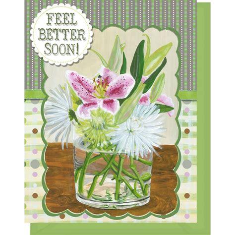 Tall Green Vase Feel Better Soon Blank Inside Pink Lilies Amp Mumms In