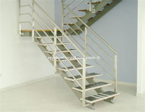 metal stairs special stairs eleve kit modular wood steel