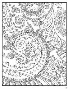 paisley color free coloring pages of zentangle paisley