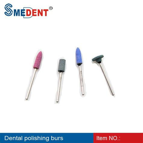 Bur Highspeed Rubber Rhs 1 Dental Silicon Rubber Polishing Burs Silicon Rubber