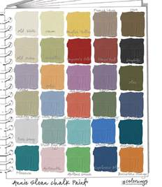 chalk paint colors sloan pantone color for 2015 colorways with leslie stocker