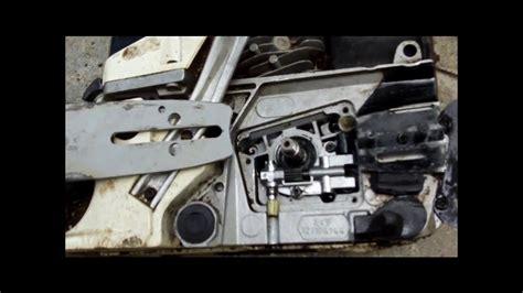 motorlu testere yag pompasi degisimi youtube