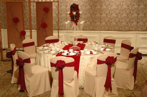 red decor red and white wedding theme decor wedding party theme decor