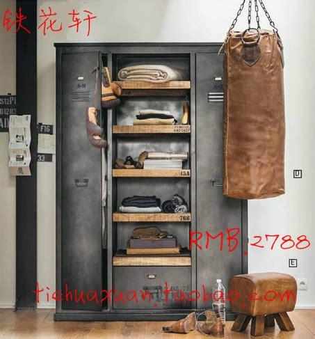 american vintage industrial metal wardrobe cabinets