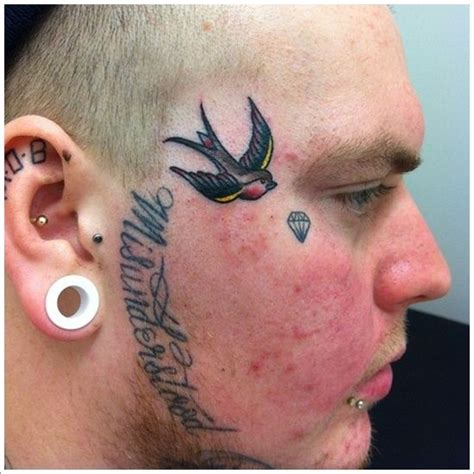 small face tattoos for men 7 best images about awesome design for and