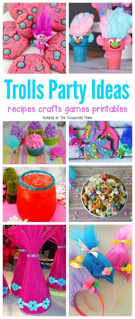 themes party games 77 best images about trolls on pinterest party favors