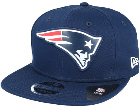 new england patriots l new england patriots team logo weld navy snapback new