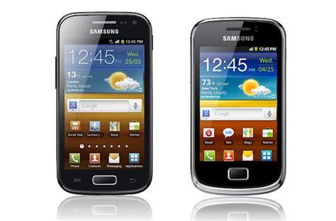 Tv Samsung Mini samsung galaxy ace 2 and mini 2 revealed tech digest