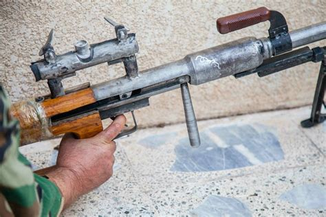 50 Bmg Sniper makeshift 50 bmg sniper rifle the firearm blogthe