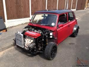 Mini Cooper With Honda Engine Classic Min Mini Vtec Not Track Car R1 Mini Z Car Etc