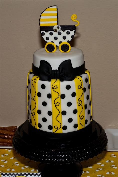 bumble bee cakes for baby shower to bee baby shower a to zebra celebrations