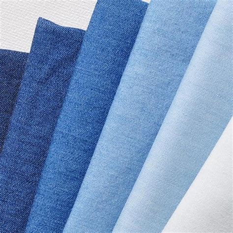 aliexpress buy 50x145cm blue cotton denim fabric for