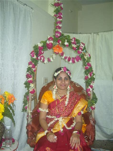 Flower Decoration In Home celebrating your godh bharai in august come bond with