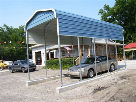 Rv Canopy Carport Single Carports Single Wide Carports 1 Car Metal Car Ports