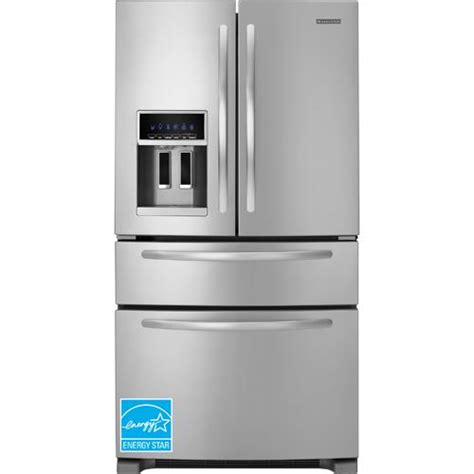 Kitchenaid Fridge Drawers by Kitchenaid Kfxs25ryms 24 5 Cuft Door Refrigerator