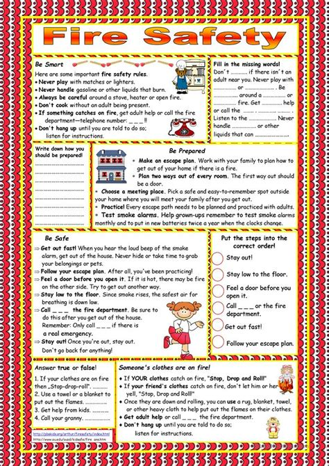 search for safety book report 33 free esl safety worksheets