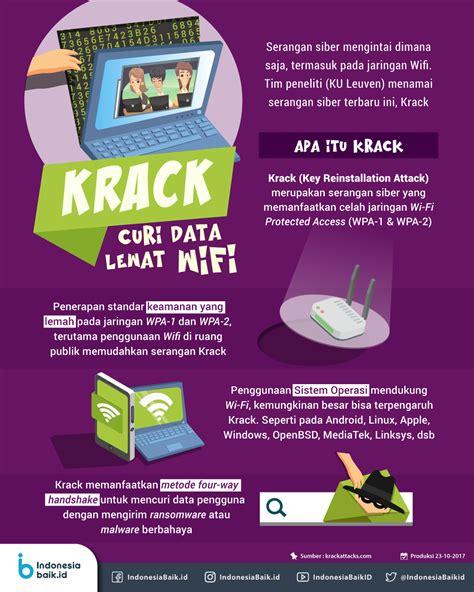 membuat virus pencuri data waspadai krack serangan cyber pencuri data lewat wifi