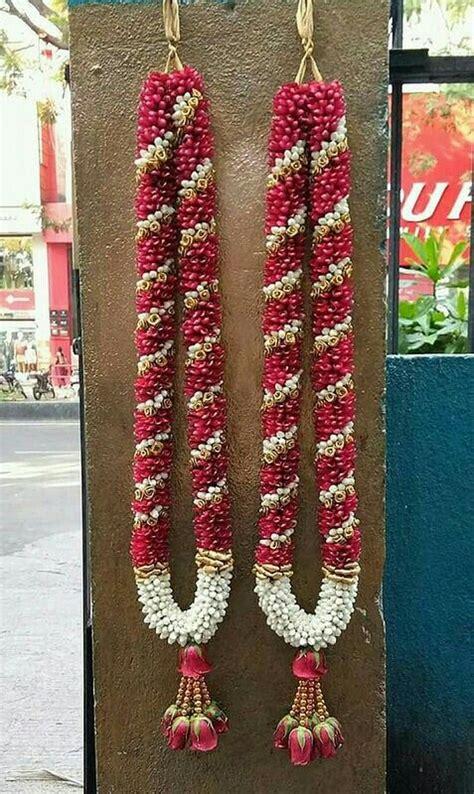 pin  almeena  poola jadai poo malai crown corsage
