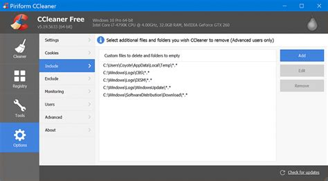 ccleaner questions ccleaner question windows 10 forums