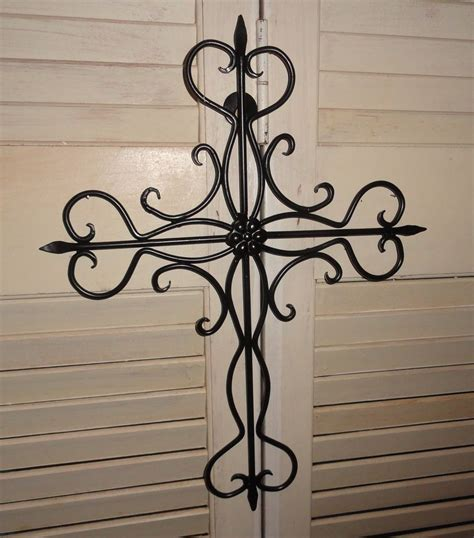 cross decor for home wall cross cast iron wall decor home and garden garden