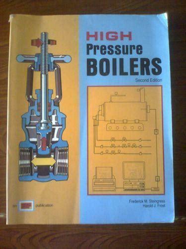 high pressure boilers books ebay