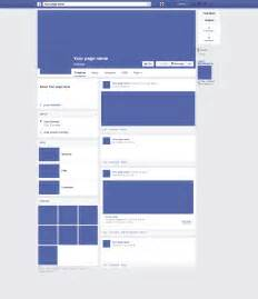 free blank facebook template word amp pdf facebook