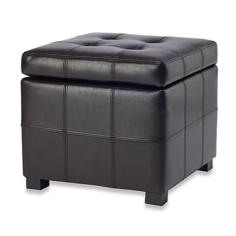 bed bath and beyond ottoman buy leather storage ottomans from bed bath beyond