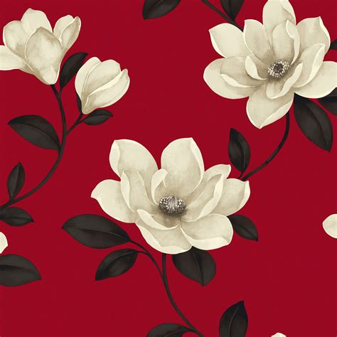 sophie conran sophie conran magnolia flower cream red