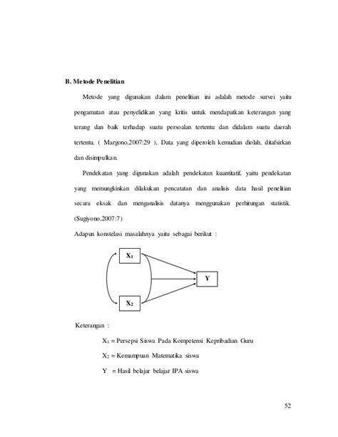 Metode Penelitian Survei Ed Revisi tesis bab 3 revisi