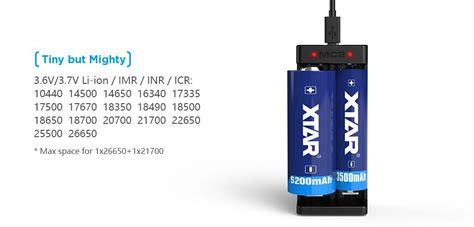Xtar Mc2 Portable Micro Usb 2 Battery Charger 2 Li Ion Imr Black vape uk xtar mc2 dual battery charger charge 18650